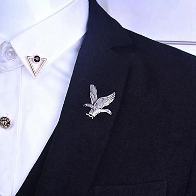 Băieți Broșe Vintage Euramerican Placat Auriu Aliaj Pasăre Animal Aripi / Pene Bijuterii Pentru Zilnic Casual