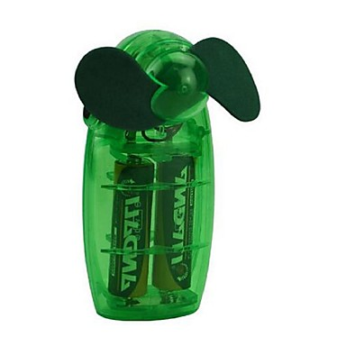 Mały mini wentylator ręczny twórczy mały wentylator trzyma plastikowy wentylator