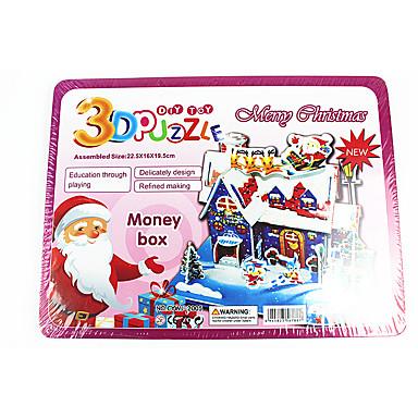 Zabawki 3D Dekoracje Puzzle Dom 3D DIY Boże Narodzenie