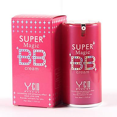 2 كريم الأساس BB Cream رطب الشفة تغطية كونسيلر طبيعي SPF25 وجه