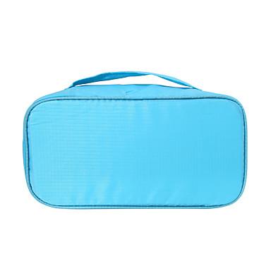 حقيبة أدوات تجميل للسفر منظم أغراض السفر المحمول متعددة الوظائف تخزين السفر إلى ملابس الصدرية نايلون / السفر