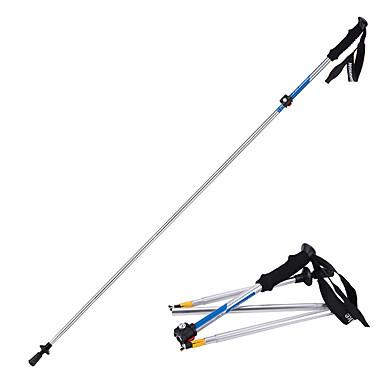 5 Bețe pentru mers în stil Nordic 135cm (53 inch) Amortizare Pliabil Ajustabil Lumina Greutate Aliaj de Aluminiu 7075 Camping & Drumeții