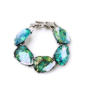 Γυναικεία Βραχιόλια με Αλυσίδα & Κούμπωμα Κοσμήματα Μοντέρνα Κράμα Geometric Shape Μπλε Απαλό Κοσμήματα Για Γάμου Πάρτι 1pc