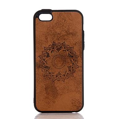 iPhone Resistente 7 retro Fiori iPhone per Plus in 05764462 7 Apple Mandala Custodia sintetica Per iPhone 7 Decorazioni Per rilievo pelle Plus q6Yp7Un