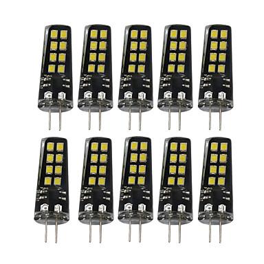 YWXLIGHT® 10 Stück 3W 200-300lm G4 LED Doppel-Pin Leuchten 16 LED-Perlen SMD 2835 Dekorativ Warmes Weiß Natürliches Weiß Weiß