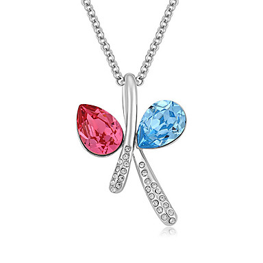 Γυναικεία Κρεμαστά Κολιέ Κρυστάλλινο Μοντέρνα Λατρευτός Εξατομικευόμενο χαριτωμένο στυλ Euramerican Κοσμήματα Για Γάμου Πάρτι