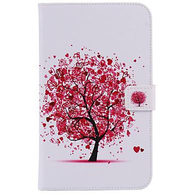 Για Θήκες Καλύμματα Θήκη καρτών Πορτοφόλι με βάση στήριξης Αυτόματη αδράνεια / αφύπνιση Ανοιγόμενη Με σχέδια Πλήρης κάλυψη tok Δέντρο