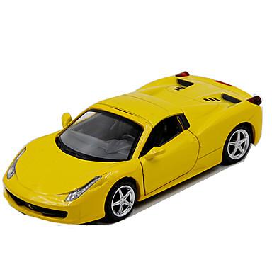 ALLOY METAL لعبة سيارات سيارة طراز سيارة سباق ألعاب محاكاة الموسيقى والضوء سيارة معدن سبيكة معدن قطع للأطفال للجنسين صبيان هدية