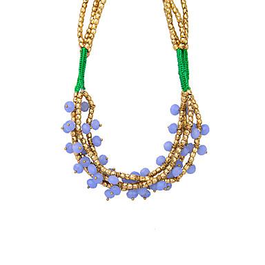Pentru femei Lănțișoare Cristal Design Unic Euramerican La modă Personalizat Bijuterii Pentru Nuntă Petrecere