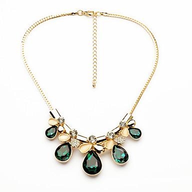 للمرأة فروع القلائد قطرة كروم تصميم فريد euramerican في مجوهرات من أجل فضفاض هدايا عيد الميلاد