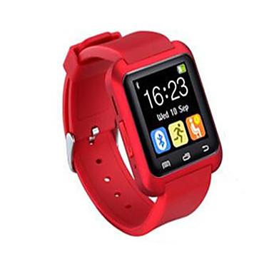 Herrn Sportuhr Smart Watch Armbanduhr digital Fernbedienungskontrolle LED Silikon Band Charme Schwarz Weiß Rot