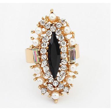 Pentru femei Verighete Inel Imitație de Perle Diamant sintetic Design Basic Design Unic Stil Logo Perle Durabil SUA La modă Englezesc