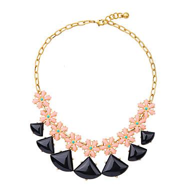 Damskie Pasemka Naszyjniki Kryształ Modny Osobiste euroamerykańskiej minimalistyczny styl Black Biżuteria Na Ślub Impreza 1szt
