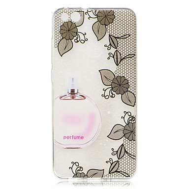 Pentru Carcase Huse Transparent Model Carcasă Spate Maska Femeie Sexy Floare Moale TPU pentru HuaweiHuawei P10 Lite Huawei P10 Huawei P9