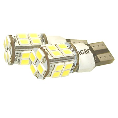 Sencart t10 149 w5w 20x2835smd led beyaz araba göstergesi ters ışık flaşör yanıp sönen ac / dc12v