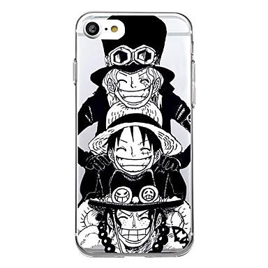 Kılıf Na Apple iPhone X iPhone 8 Ultra cienkie Wzór Czarne etui Rysunek Miękkie TPU na iPhone X iPhone 8 Plus iPhone 8 iPhone 7 Plus