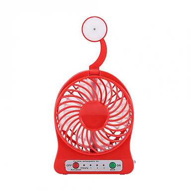 مروحة تبريد الهواء LED ضوء ومريحة سرعة الرياح التنظيم أوسب معيار عالمي تصميم نحيف USB