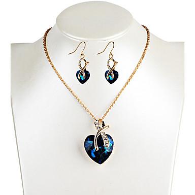 Pentru femei Cercei Picătură Lănțișor Cristal Design Unic Stil Atârnat La modă Euramerican bijuterii de lux costum de bijuterii Cristal