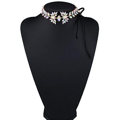 Γυναικεία Κολιέ Τσόκερ Κοσμήματα Κοσμήματα Συνθετικοί πολύτιμοι λίθοι Κράμα Euramerican Μοντέρνα Κοσμήματα Για Πάρτι