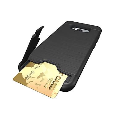 Maska Pentru Samsung Galaxy S8 Plus S8 Titluar Card Anti Șoc Carcasă Spate Culoare solidă Greu PC pentru S8 S8 Plus