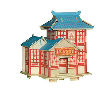 3D-puzzels Speeltjes Chinese architectuur Unisex Stuks