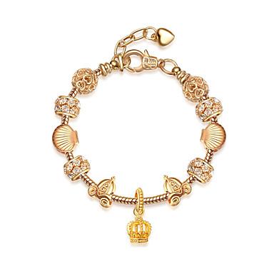 للمرأة أساور السلسلة والوصلة الصداقة موضة سبيكة Round Shape مجوهرات من أجل الذكرى السنوية هدية الفالنتين