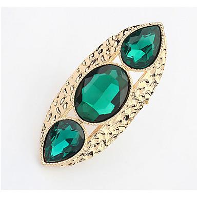 Dames Bandringen Ring Synthetische Diamant Gepersonaliseerde Uniek ontwerp Logostijl Klassiek Vintage Bohémien Standaard Doe-het-zelf