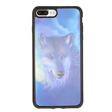 Pouzdro Uyumluluk Apple iPhone 7 Plus iPhone 7 Temalı Arka Kapak Köpek Yumuşak TPU için iPhone 7 Plus iPhone 7 iPhone 6s Plus iPhone 6s