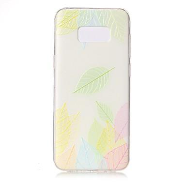 غطاء من أجل Samsung Galaxy S8 Plus S8 شفاف مطرز نموذج غطاء خلفي الطباعة الدانتيل ناعم TPU إلى S8 S8 Plus S7 edge S7