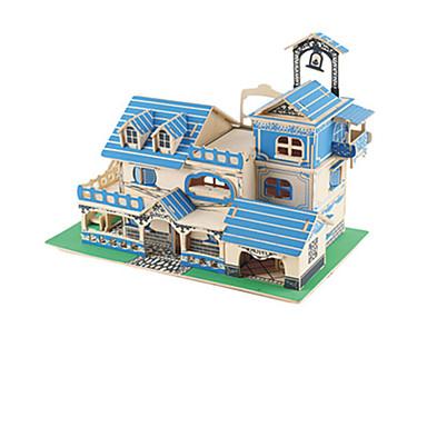 3D-puzzels Hout Model Modelbouwsets Speeltjes Beroemd gebouw Hout Unisex Stuks