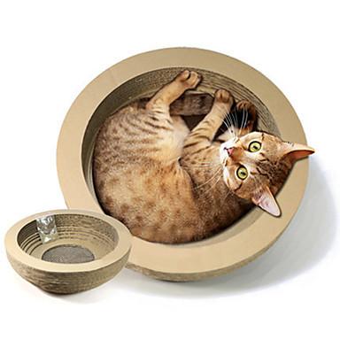 Kissa Kissan lelu Lemmikkieläinten lelut Interaktiivinen Raapimisalusta Kestävä Paperi Lemmikit