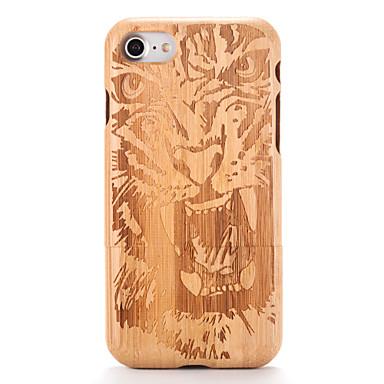 Varten kotelot kuoret Koristeltu Kuvio Takakuori Etui Puukuvio Piirros Kova Puu varten AppleiPhone 7 Plus iPhone 7 iPhone 6s Plus iPhone
