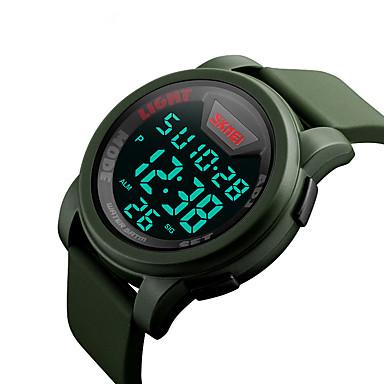 Skmei 1218 bărbați femei sport în aer liber multifuncțional impermeabil sport ceasuri electronice