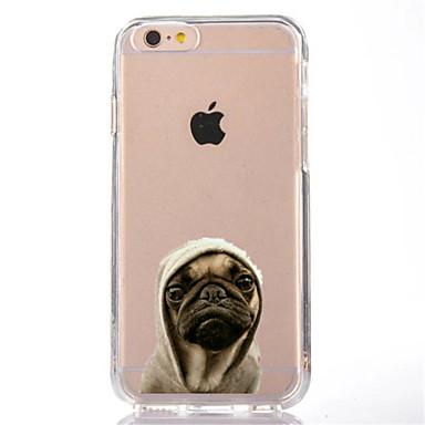 Hülle Für Apple iPhone X iPhone 8 Transparent Muster Rückseite Hund Weich TPU für iPhone X iPhone 8 Plus iPhone 8 iPhone 7 Plus iPhone 7