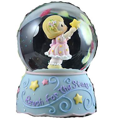Cutie muzicală Jucarii Sferă Cilindric Reșină Hârtie Reciclabilă Bucăți Ne Specificat Cadou