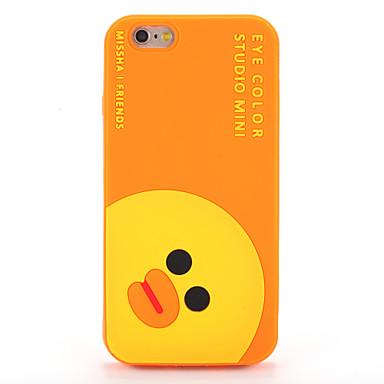 Pentru Carcase Huse Model Carcasă Spate Maska Desen animat Moale Silicon pentru AppleiPhone 7 Plus iPhone 7 iPhone 6s Plus iPhone 6 Plus