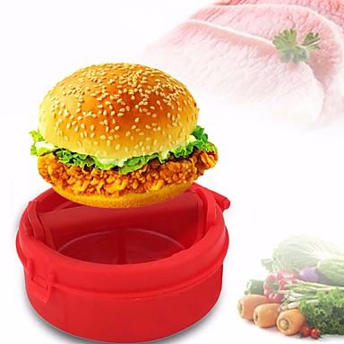 1 szt DIY Mold For warzyw Do mięsa na chleb SilikonPrzyjazne dla środowiska Wysoka jakość Powierzchnia nieprzywierająca Kreatywny gadżet