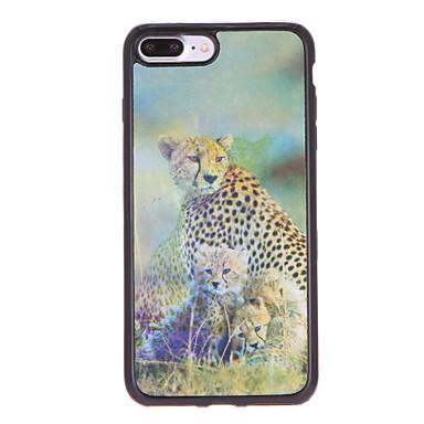 Varten kotelot kuoret Kuvio Takakuori Etui Eläin Pehmeä TPU varten AppleiPhone 7 Plus iPhone 7 iPhone 6s Plus iPhone 6 Plus iPhone 6s