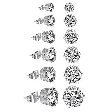 Γυναικεία Κοσμήματα Σετ Cercei - Πολυτέλεια Κυκλικό Κλασσικό Ακρυλικό DIY Euramerican μινιμαλιστικό στυλ Circle Shape Λευκό Μαύρο Σετ