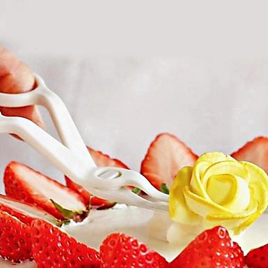 Koristeluväline Cupcake Cake Roestvast staal Muovi DHZ