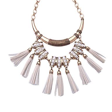 Damskie Pasemka Naszyjniki luksusowa biżuteria Frędzle Osobiste Gold/Silver Biżuteria Na Ślub 1szt