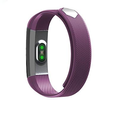 Smart Armband Aanraakscherm Hartslagmeter Waterbestendig Verbrande calorieën Stappentellers Logboek Oefeningen Afstandsmeting