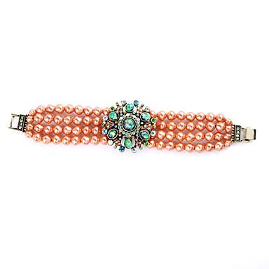 Γυναικεία Βραχιόλια Strand Φιλία Μοντέρνα Κράμα Flower Shape Κοσμήματα Για 1pc