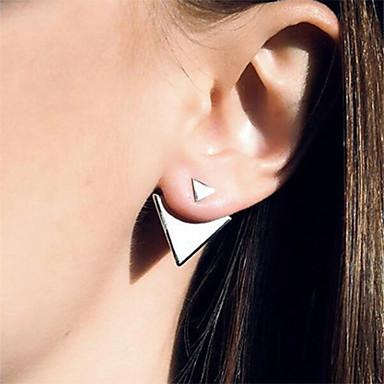여성용 스터드 귀걸이 패션 미니멀 스타일 유럽의 합금 삼각형 보석류 일상 캐쥬얼 사무실 및 경력 의상 보석