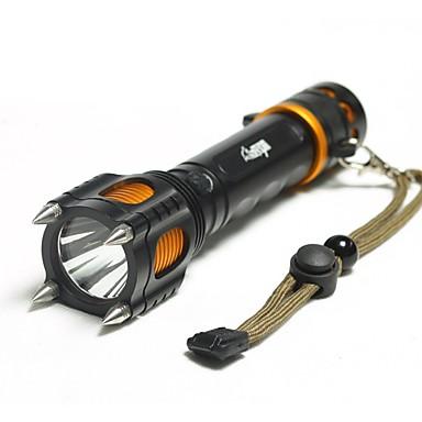 Lanterne LED LED Lumeni Mod 18650 Rezistent la apă Dimensiune Compactă Camping/Cățărare/Speologie Utilizare Zilnică Ciclism Exterior