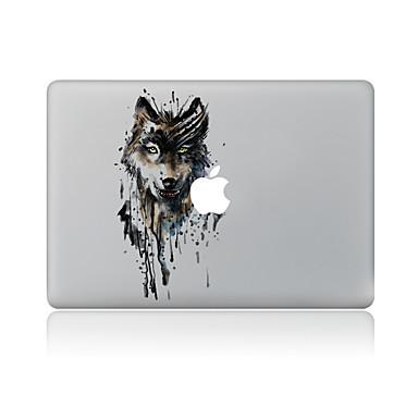 1 parça Deri Etiket için Çizilmeye Dayanıklı Hayvan Tema PVC MacBook Pro 15'' with Retina MacBook Pro 15'' MacBook Pro 13'' with Retina