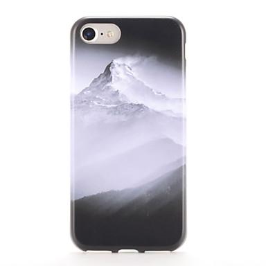 إلى أغط / كفرات نموذج غطاء خلفي غطاء مشهد ناعم TPU إلى Apple فون 7 زائد فون 7 iPhone 6s Plus iPhone 6 Plus iPhone 6s أيفون 6