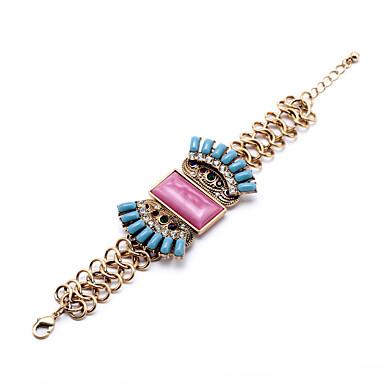 Kadın's Zincir & Halka Bileklikler Moda alaşım Geometric Shape Mücevher Için Özel Anlar Yılbaşı Hediyeleri 1pc