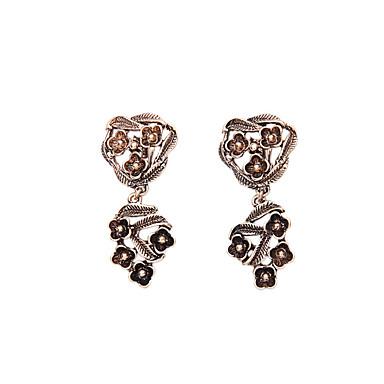 Halka Küpeler Kristal Eşsiz Tasarım Moda Kişiselleştirilmiş Euramerican Altın Mücevher Için Düğün Parti Doğumgünü 1 çift
