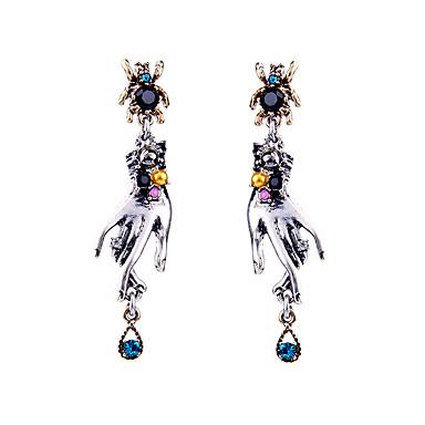 Damskie Kolczyki koła Kryształ Unikalny Osobiste euroamerykańskiej biżuteria kostiumowa Biżuteria Na Ślub Impreza Urodziny